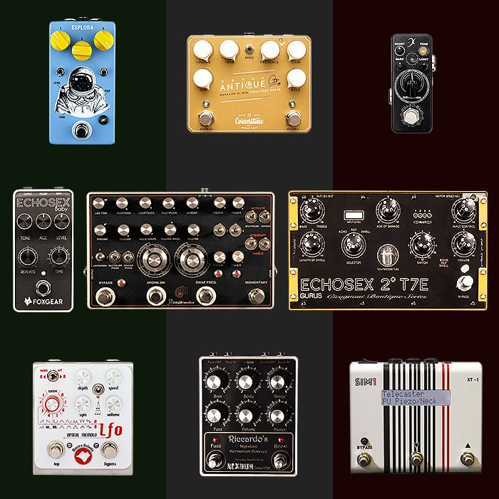 Best of Italian Guitar Pedals and Pedal Builders
