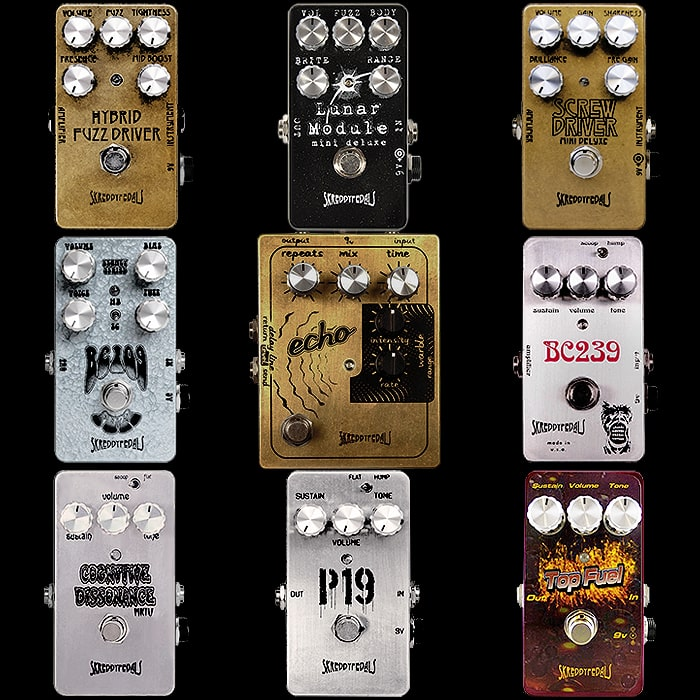The Other King of Fuzz - Marc Ahlfs of Skreddy Pedals