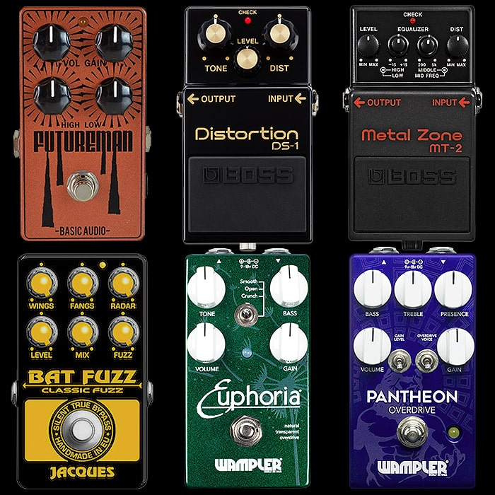 The Art of Dialling It In - How to Tweak and Pivot Certain Drive and Fuzz Pedals
