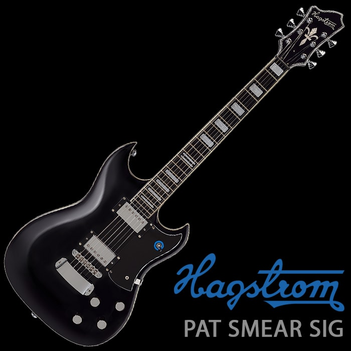 Hagstrom Pat Smear Signature in Black Gloss - £705