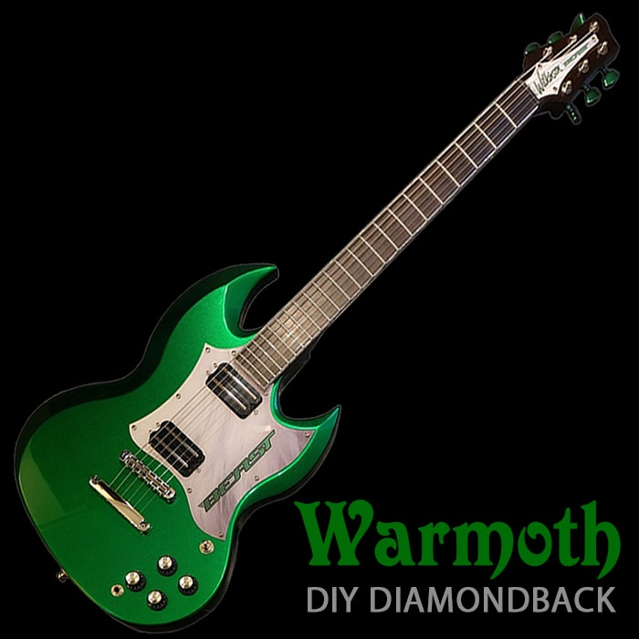 Warmoth Custom-build Diamondback SG-style 'Wilkinson Beast' - £1,100