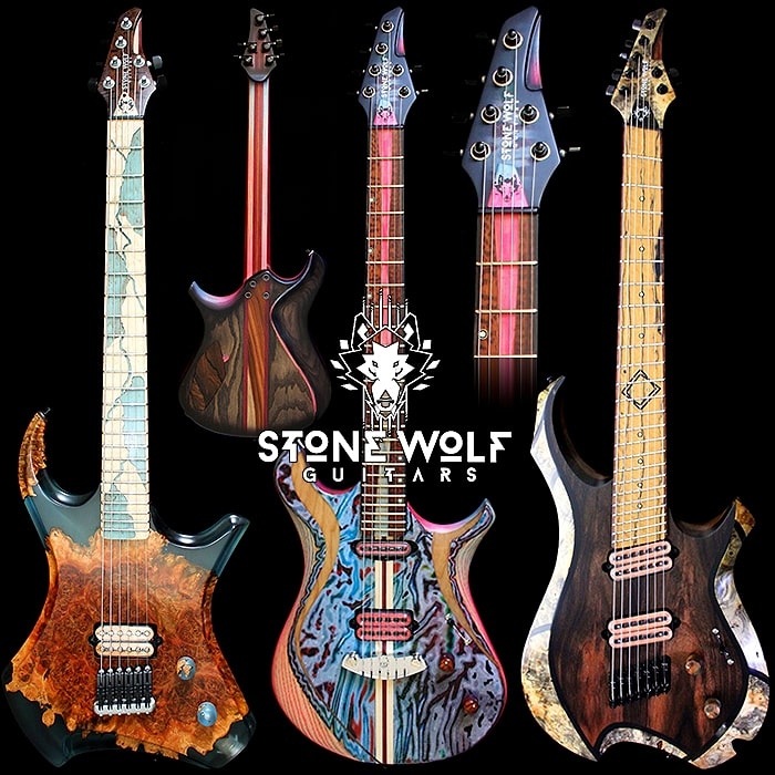 Guitar Highlights = Stone Wolf Guitars (StoneWolfGuitars.com)