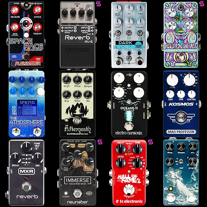 12 of the Best Compact Reverb Pedals