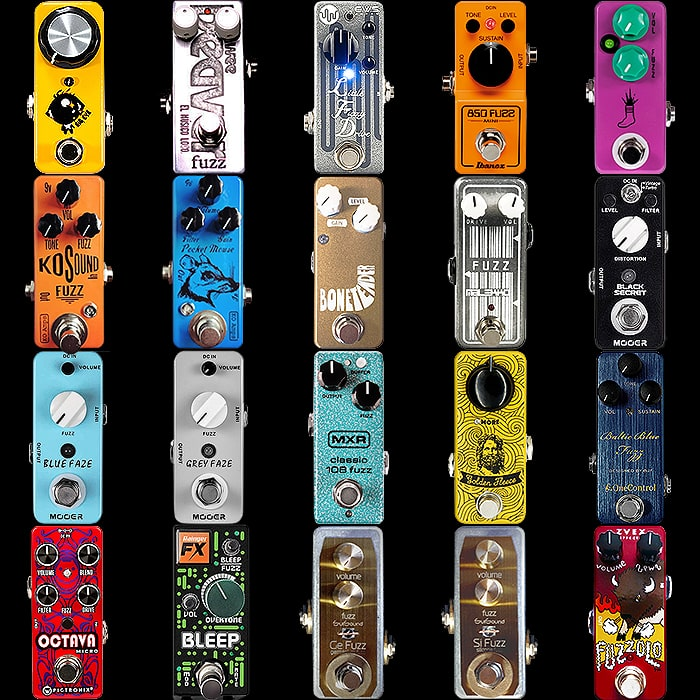 20 of the Best Mini Fuzz Pedals - 2018 Update II