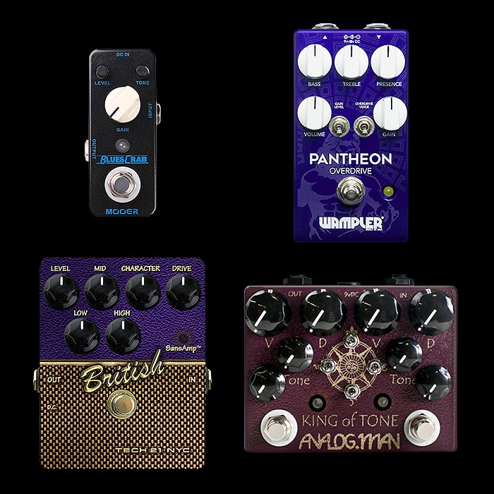Best of Mini, Compact, Medium and Large Blues Breaker Style Pedals
