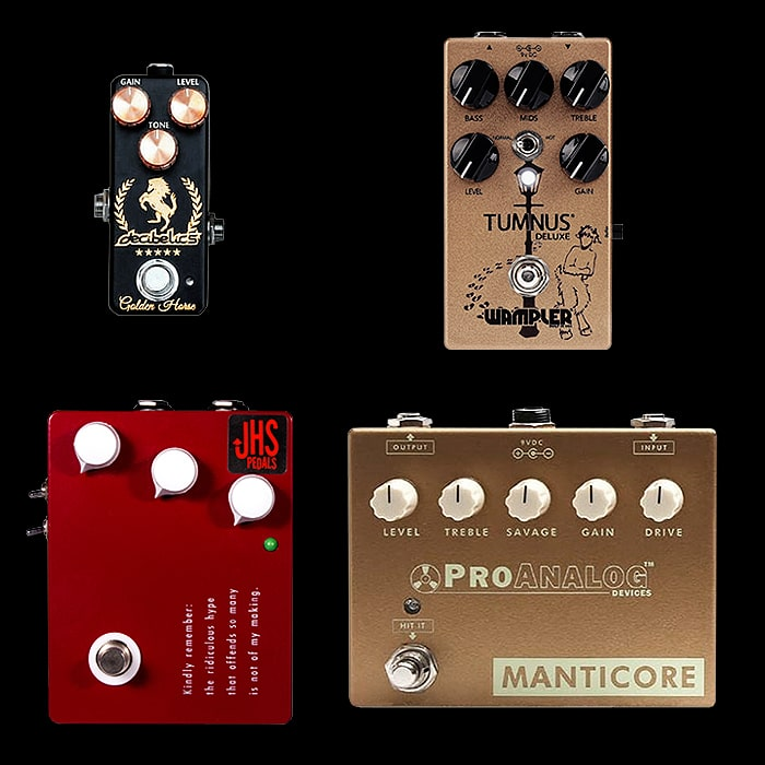Best of Mini, Compact, Medium and Large Klon Style Pedals