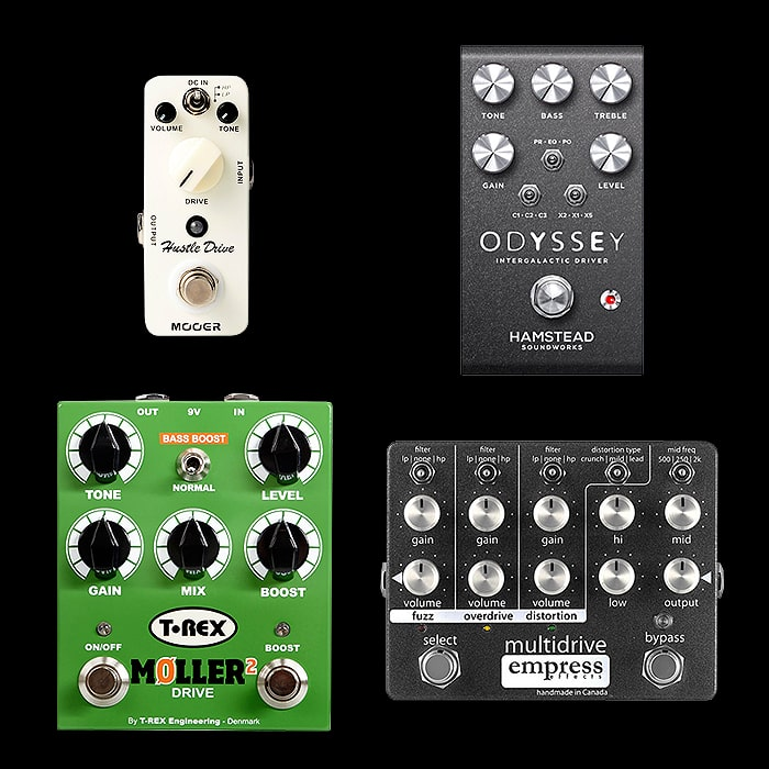 Best of Mini, Compact, Medium and Large OCD Style / Crunchy Overdrive Pedals
