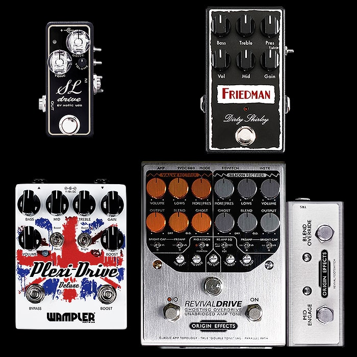 Best of Mini, Compact, Medium and Large Plexi Style Pedals