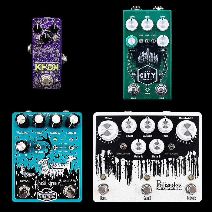 Best of Mini, Compact, Medium and Large Tube Screamer Style Pedals