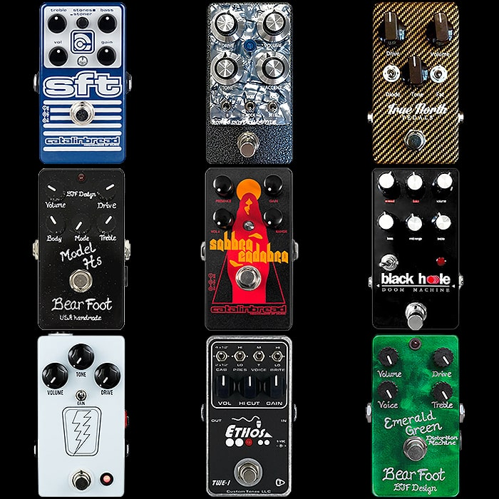 9 of the Best Non-Marshall Generic Compact Amp-in-a-Box / Amp-style Pedals