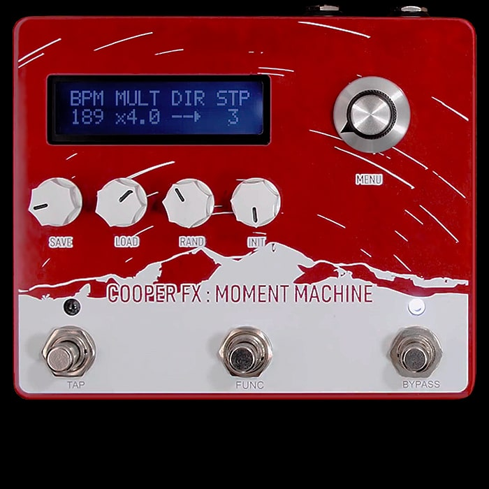 Cooper FX Launches and Immediately Sells Out of new Moment Machine Polyphonic Pitch Shifter and 16 Step Sequencer