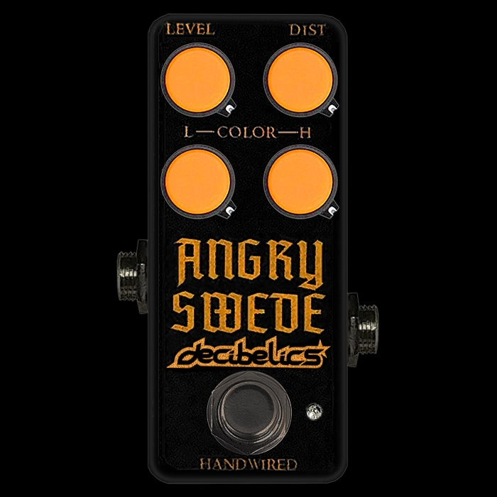 Decibelics Teases Mini Version HM-2 Clone - the Angry Swede!