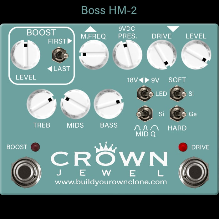 Boss HM-2 Heavy Metal Pedal Considerations and Alternatives