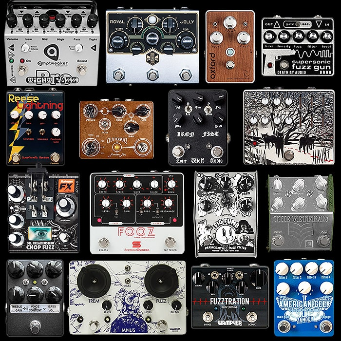 16 of the Best Medium and Large Fuzz Pedals - 2019 Edition