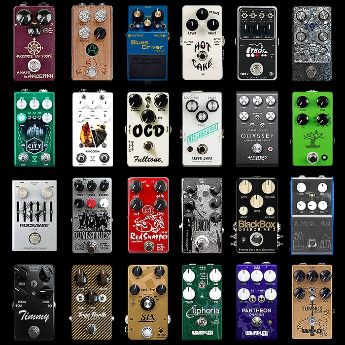 24 of the Best Compact Overdrive Pedals - 2019 Edition