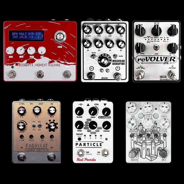 Further Thoughts on Granular Synthesis / Glitch Style Pedals
