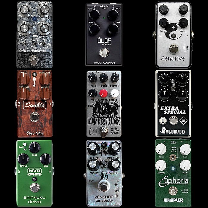 9 of the Best Compact Dumble Style Pedals