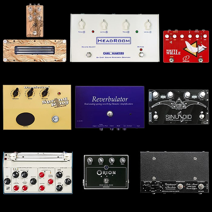 9 of the Best True Spring Tank Reverb Pedals
