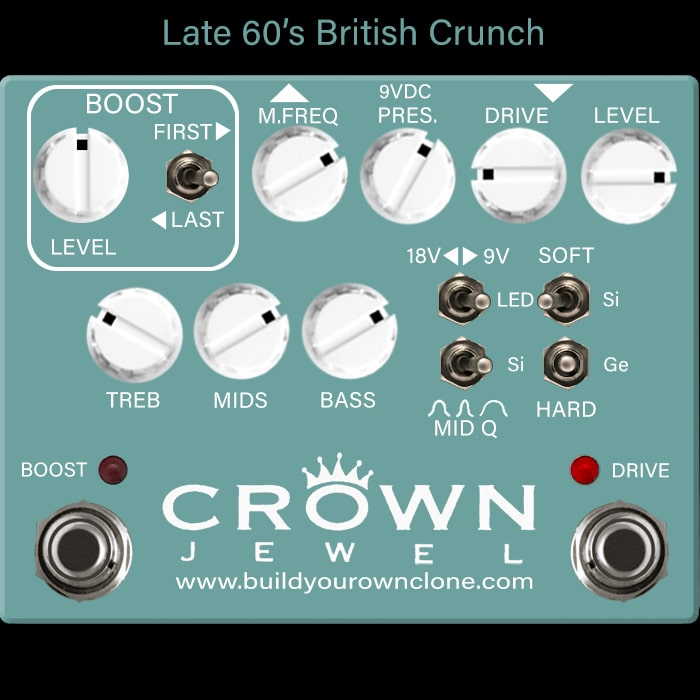Late 60's British Crunch