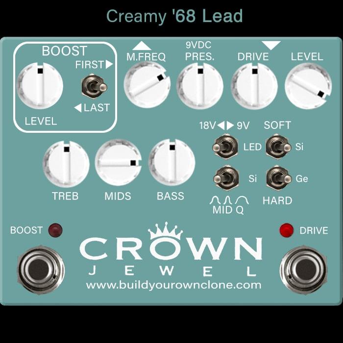 Creamy '68 Lead