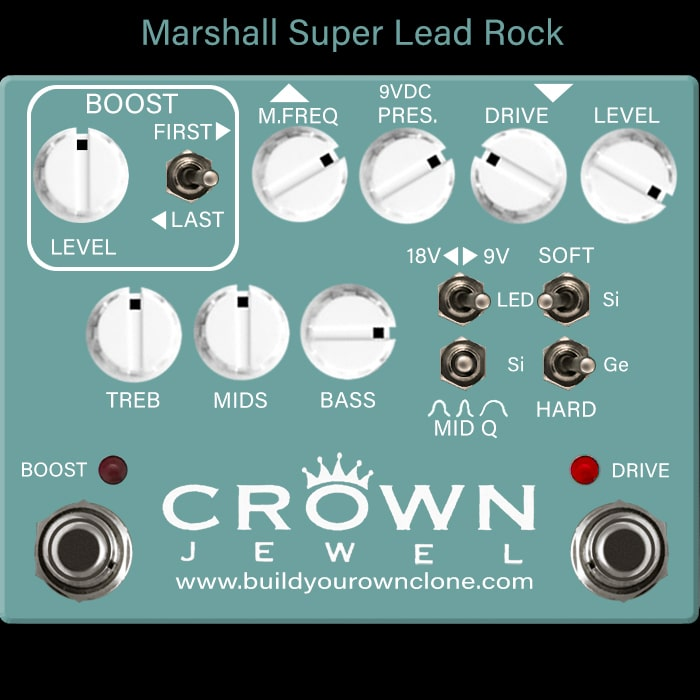 Marshall Super Lead Rock