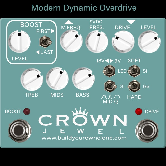 Modern Dynamic Overdrive