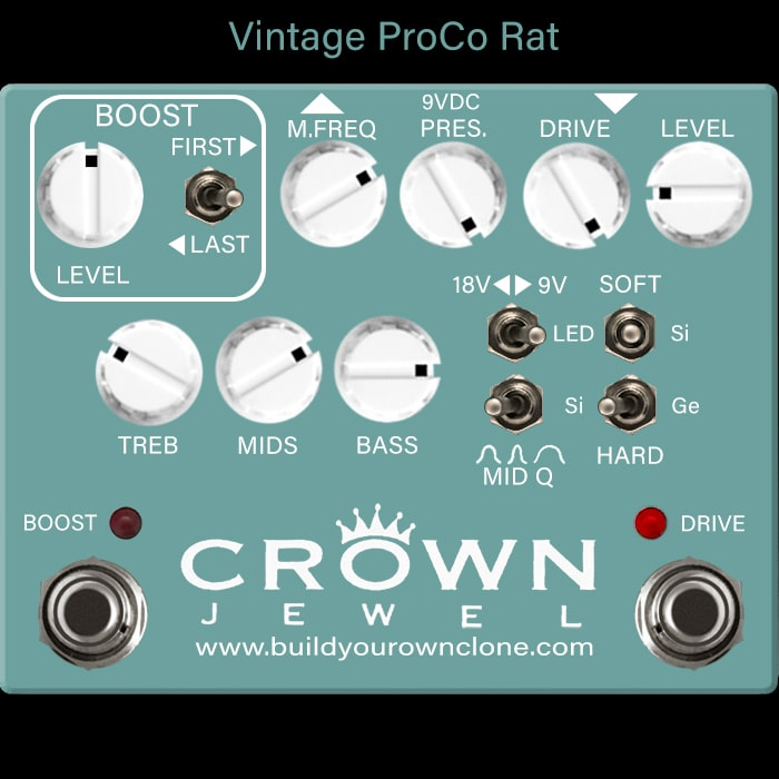 Vintage ProCo Rat