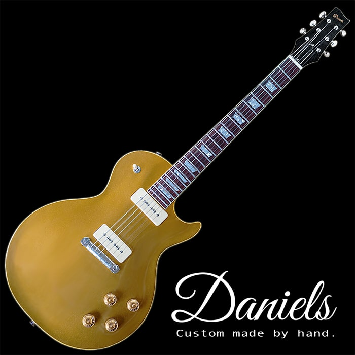 Daniels Guitars 1954 Custom Les Paul Gold Top Style Guitar - £POA