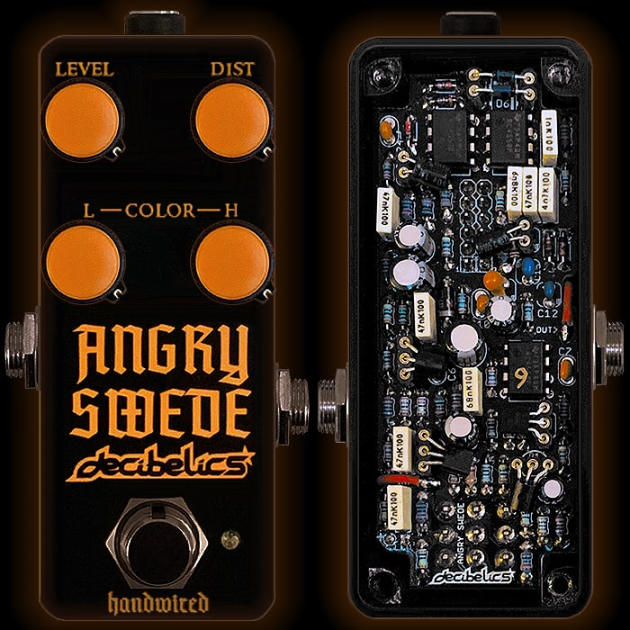 Decibelics Delivers the New Shape of Metal with its Angry Swede Mini HM-2 Clone