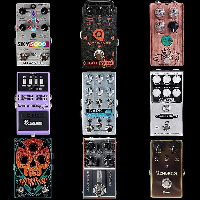 9 of the Most Distinctive Pedal Range Enclosure Designs