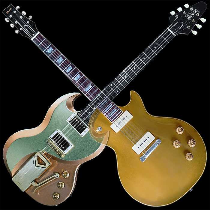 Gibson Not Gibson - Classic Guitars with a Twist