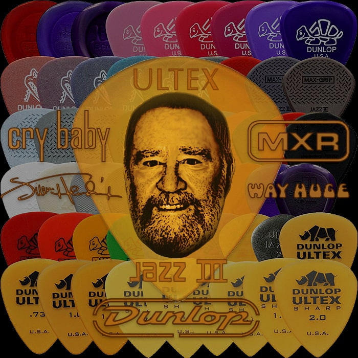 RIP Jim Dunlop - King of the Picks