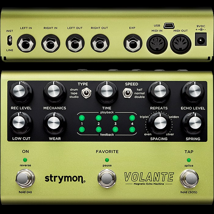 Strymon Announces the Volante - The Ultimate Magnetic Style Delay Pedal
