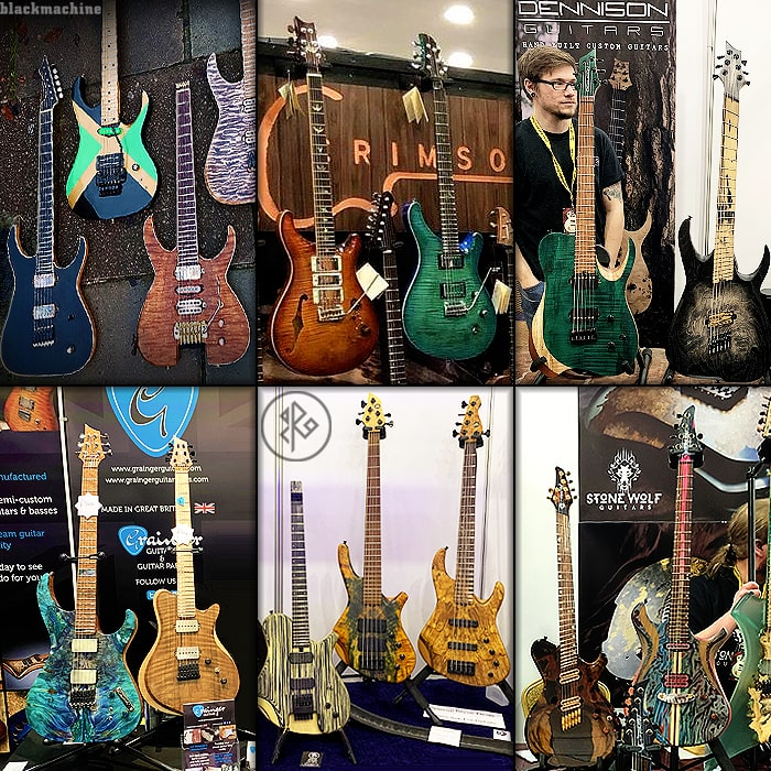 Guitar Highlights at the 2019 Birmingham Guitar Show
