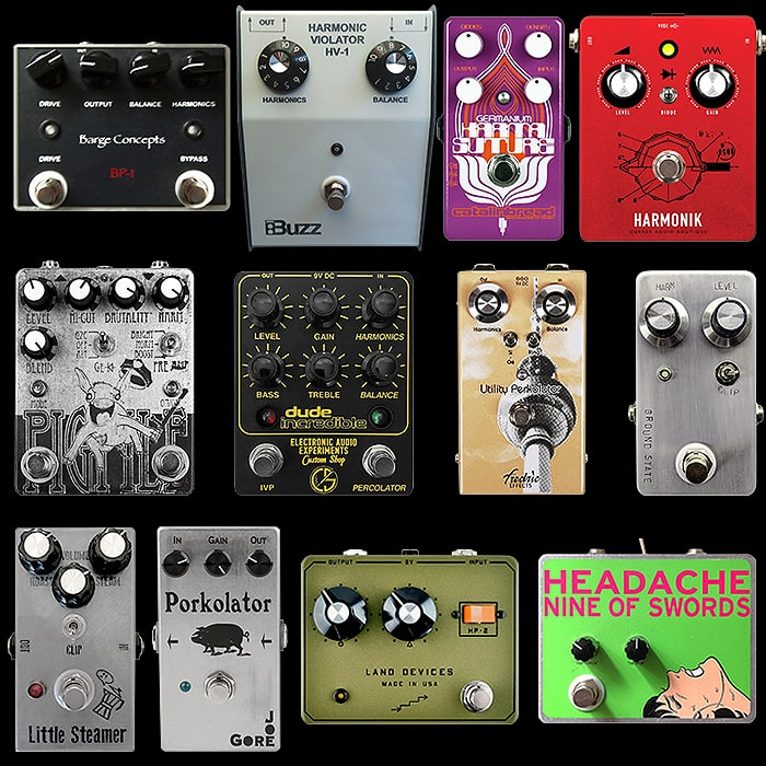 12 of the Best Harmonic Percolator Style Fuzzstortion Pedals