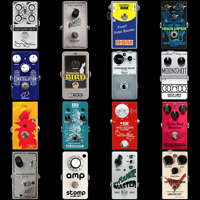 16 of the Best Compact Treble Booster Pedals