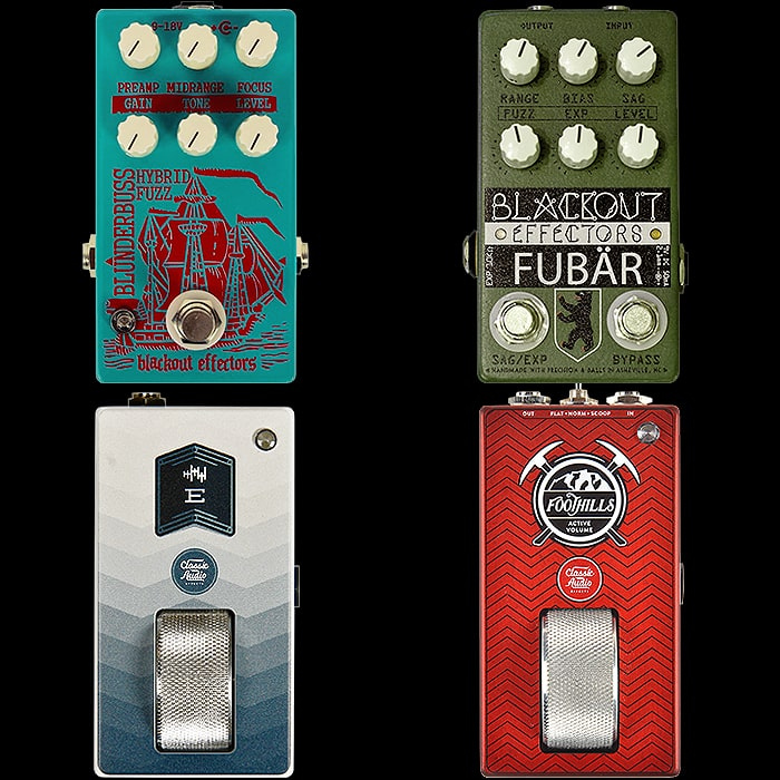 2 of the Best from 2 Laid to Rest - Blackout Effectors and Classic Audio Effects