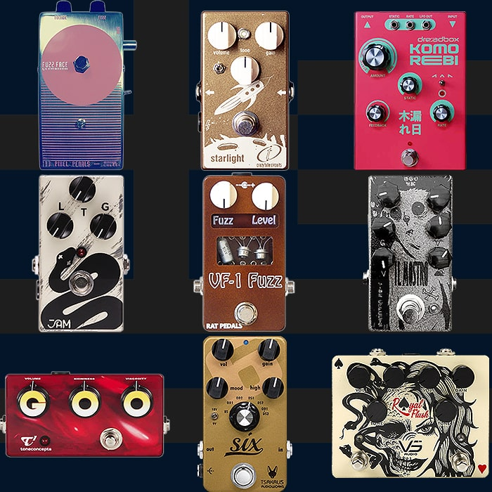 Best of Greek Guitar Pedals and Pedal Builders