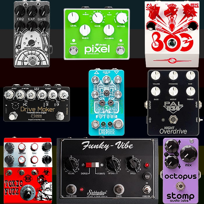 Best of Central and South American Guitar Pedals and Pedal Builders