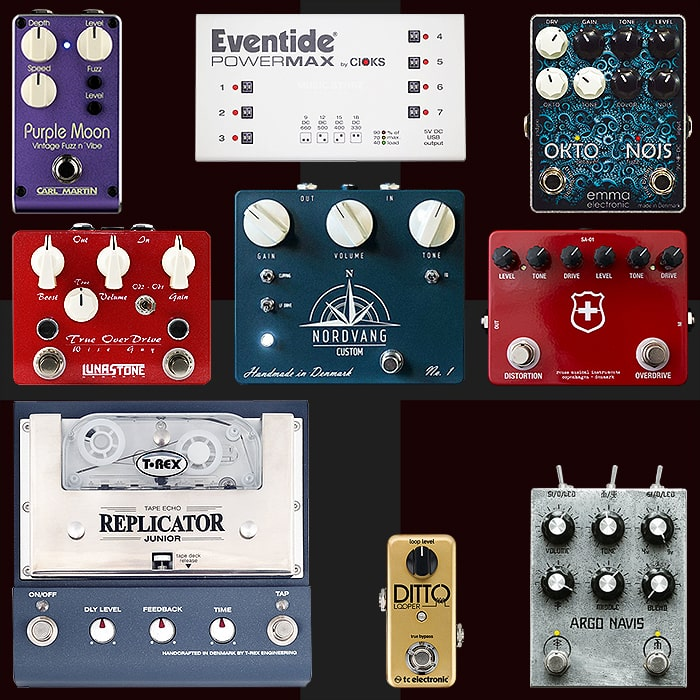 Best of Danish Guitar Pedals and Pedal Builders
