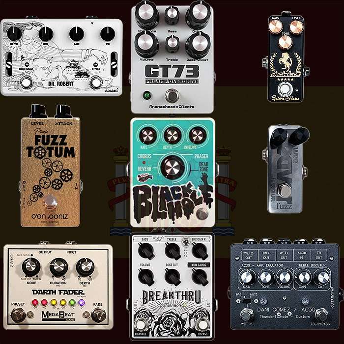 Best of Spanish Guitar Pedals and Pedal Builders