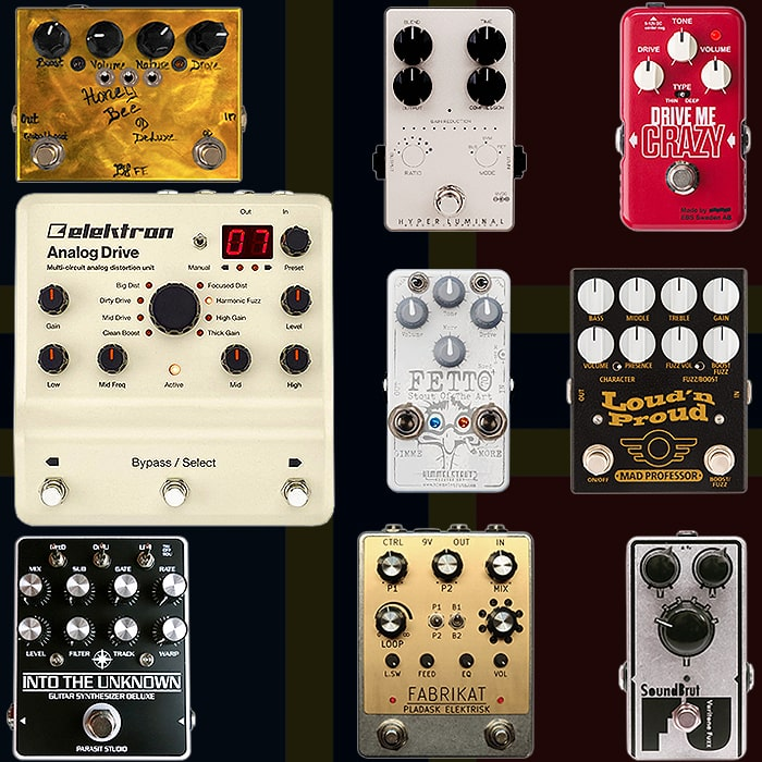 Best of Swedish, Finnish and Norwegian Guitar Pedals and Pedal Builders