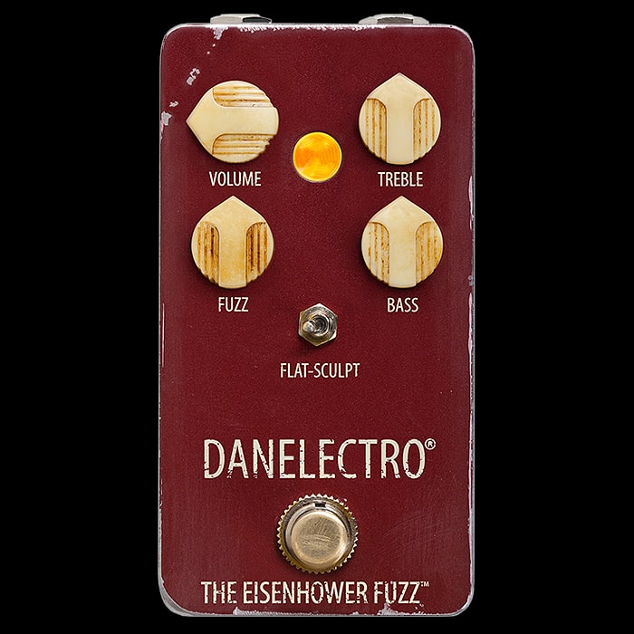 Danelectro Launches Vintage Style Relic'd The Eisenhower Octave Fuzz