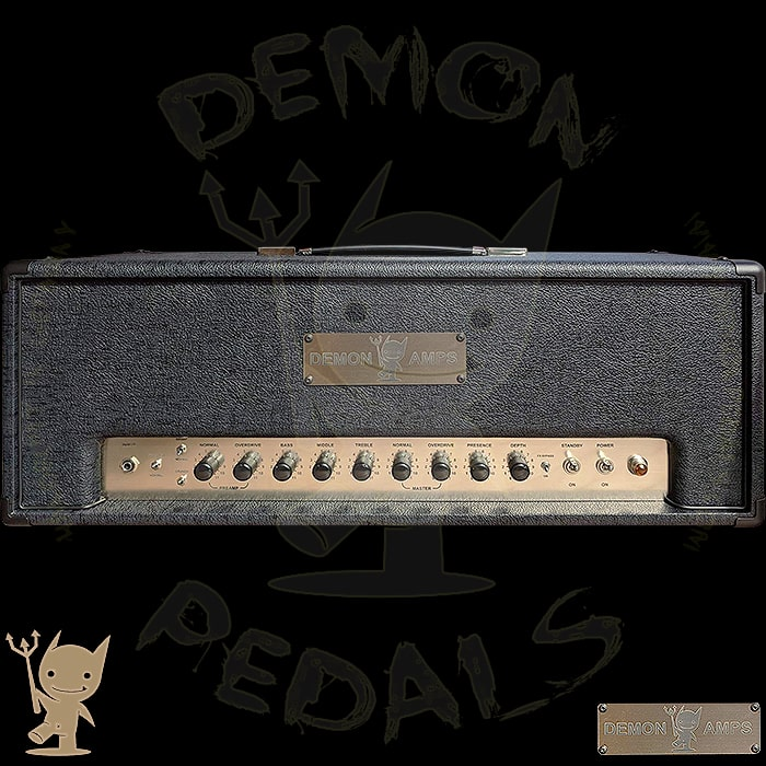Matthias's Demon Amps Head