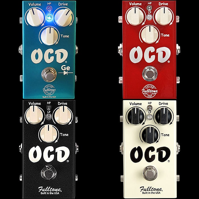 Fulltone Announces New Limited Edition Germanium Metallic Teal OCD Pedal