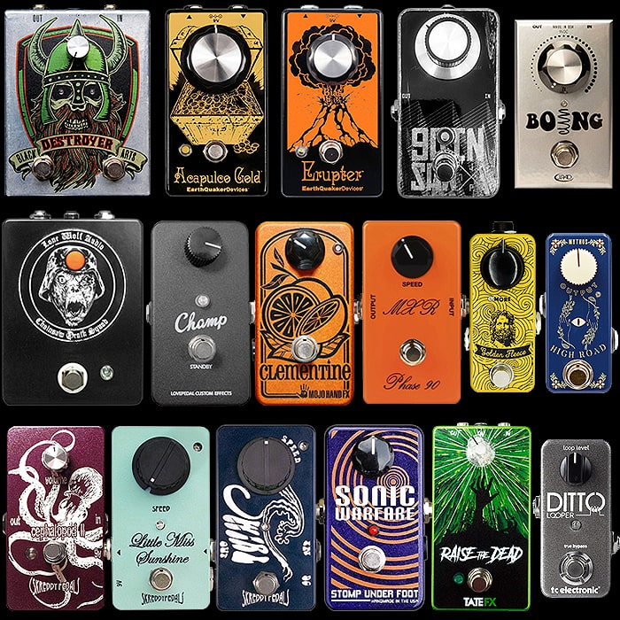 One Knob Wonders! - 17 of the Best One Knob Pedals
