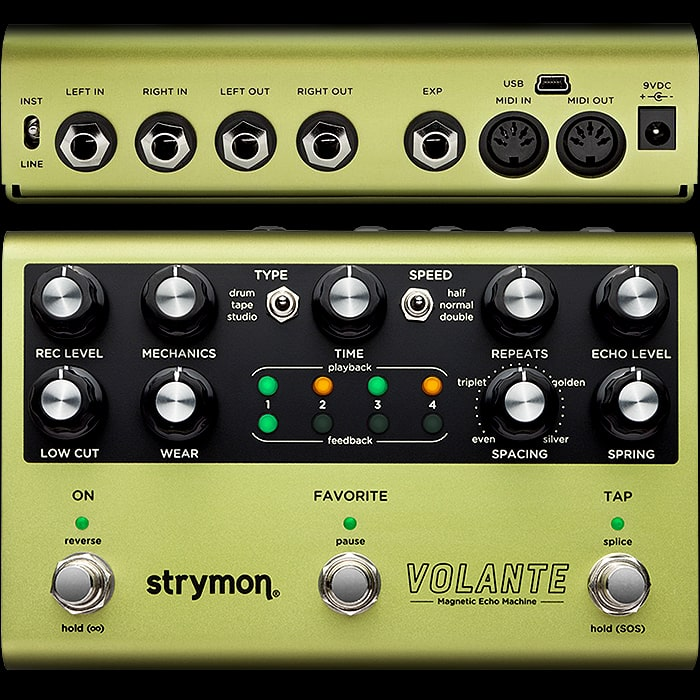 Why the Strymon Volante is my favourite type of Delay Pedal, and how it could be improved!