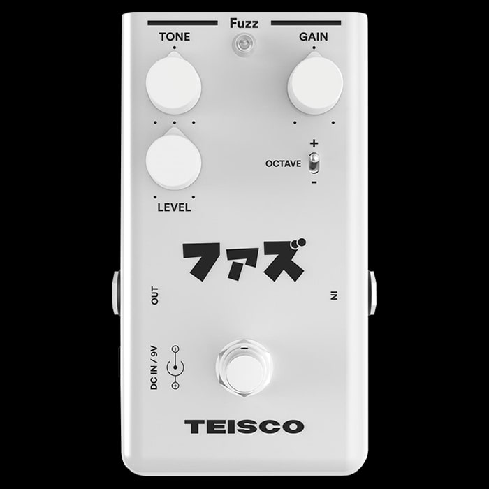 Teisco Launches new 'Fuzz' Octave Fuzz Pedal
