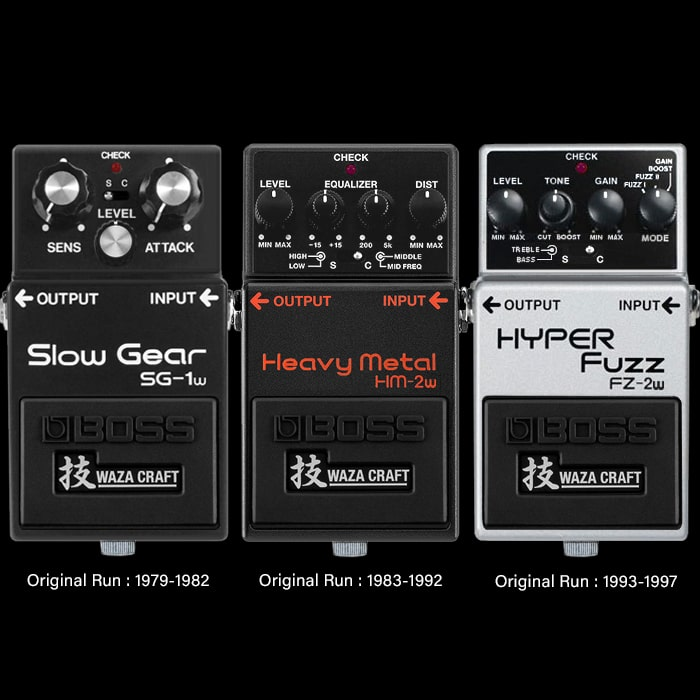 Three of the Likeliest Next Boss Waza Craft Pedals