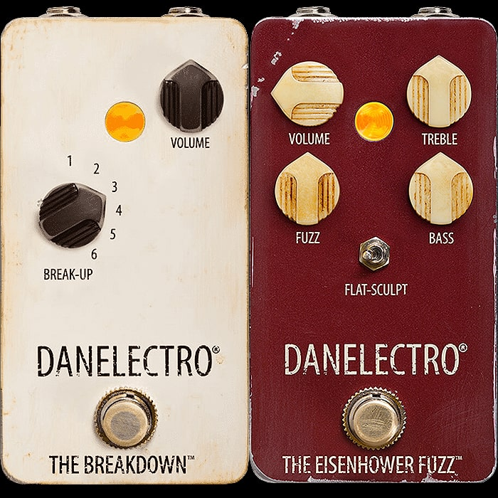 Rough and Ready Reworked Classics - the Danelectro Vintage The Breakdown Boost/Overdrive/PreAmp and Octave Up The Eisenhower Fuzz
